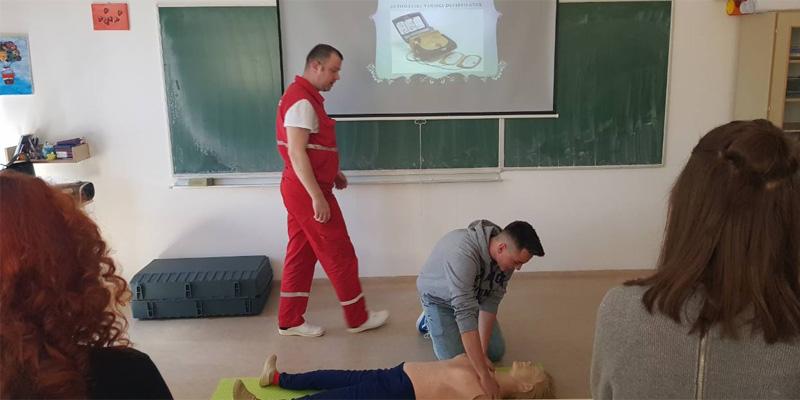 Održane vježbe pružanja prve pomoći