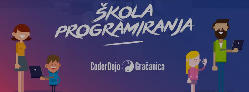 Besplatna škola programiranja u Gračanici – Coder Dojo