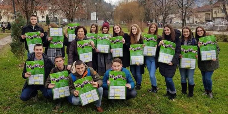 Učenici dijelili ekološke kalendare