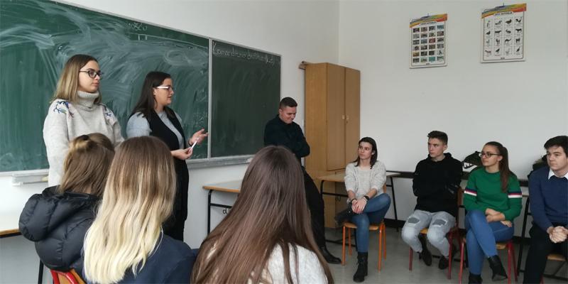 Zajedničke radionice Vijeća učenika Gimnazije i MSŠ Gračanica
